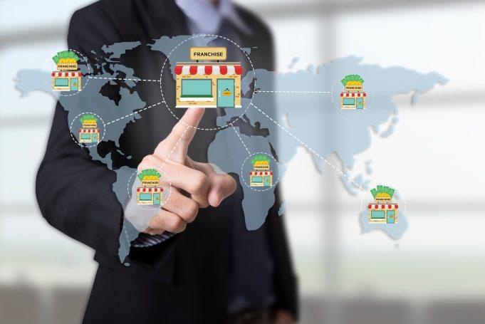 alt = Marketing branding retail franchise License. strategy concept. Franchise