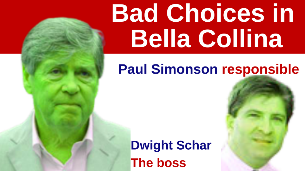 Bad Choices in Bella Collina by Paul Simonson and Dwight Schar
