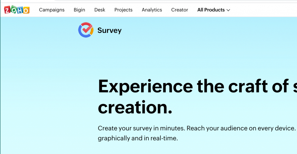 Zoho latest most comprehensive forms and survey comparison 2021